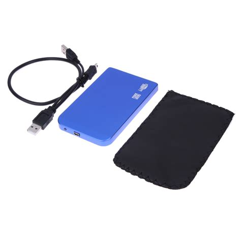 Kesing Hardisk External Hayabusa Sata Usb 2 0 Hdd 2 5 Inch P speed slim portable usb 2 0 hdd enclosure external for sata 2 5 disk drives