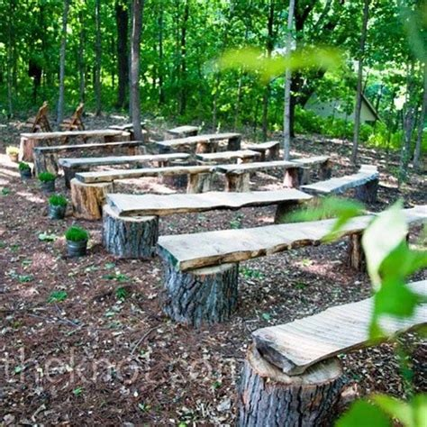 tree stump bench tree stump benches the big day pinterest