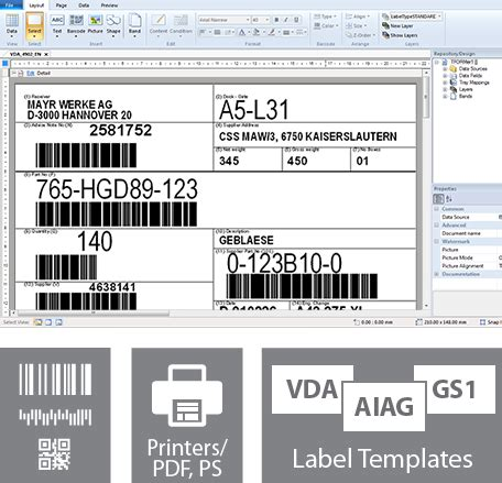 design label software free powerful barcode label printing software and label design