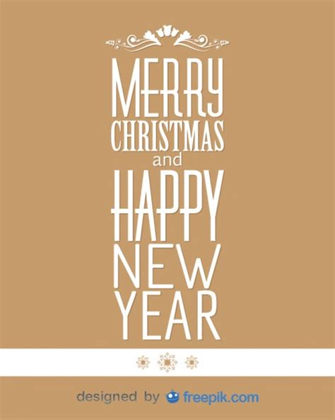 imagenes merry christmas and happy new year banner merry christmas and happy new year vector free