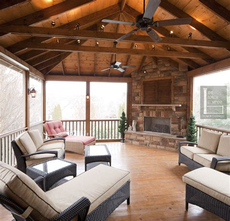 Hip Roof Barn by Porch Ceiling Beams The Porch Companythe Porch Company