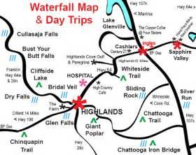waterfalls of southwestern carolina