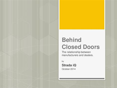 libro behind closed doors behind closed doors