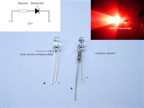 dioda led i rezystor poradnik diody led led labs
