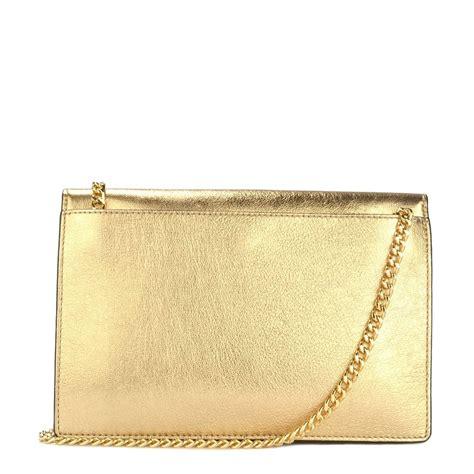 Envelope Clutch Gold michael by michael kors pale gold envelope clutch