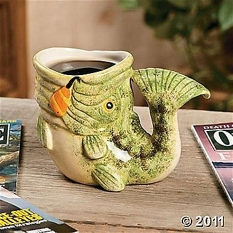 unique shaped coffee mugs unique fish shaped coffee mug new