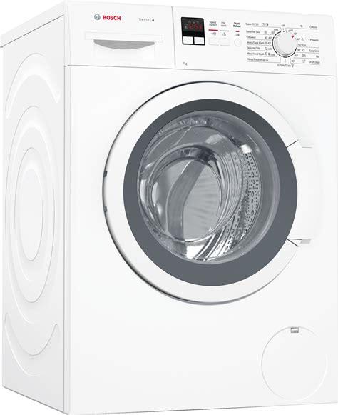 front door washing machine new bosch wak24162au 7kg front load washing machine