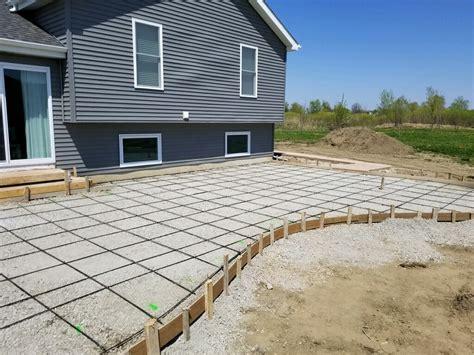 Curved Patio - curved edge concrete patio neuvokas corporate