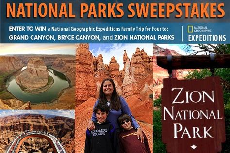National Sweepstakes - national geographic national parks sweepstakes sweepstakesbible
