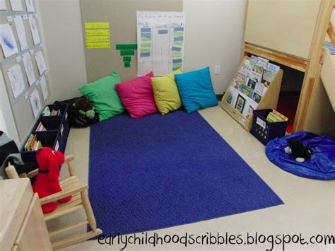 comfortable classroom early childhood scribbles setting up a classroom library