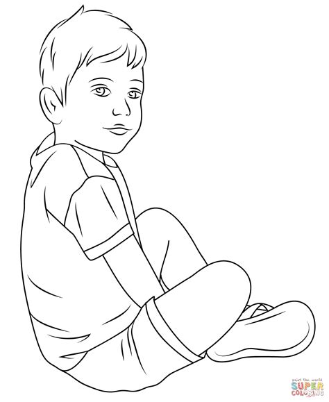 child color child coloring page free printable coloring pages