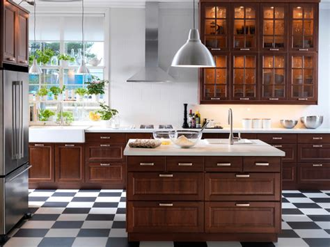 ikea kitchen ideas and inspiration marvelous dark brown polished cool ikea kitchen cabinets