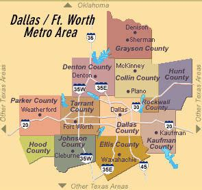 dfw county map anti federalist 03 july 2011