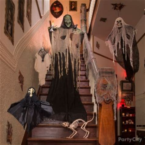 halloween themes for haunted house haunted house giant spider web idea party city