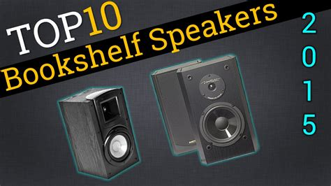 top 10 bookshelf speakers 2015 compare the best