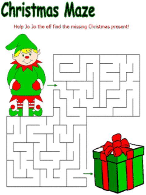 printable holiday mazes free christmas mazes christmas crafts for kids pinterest