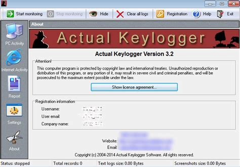 free keylogger free download full version dl actual keylogger 3 2 free new on windows 10 from