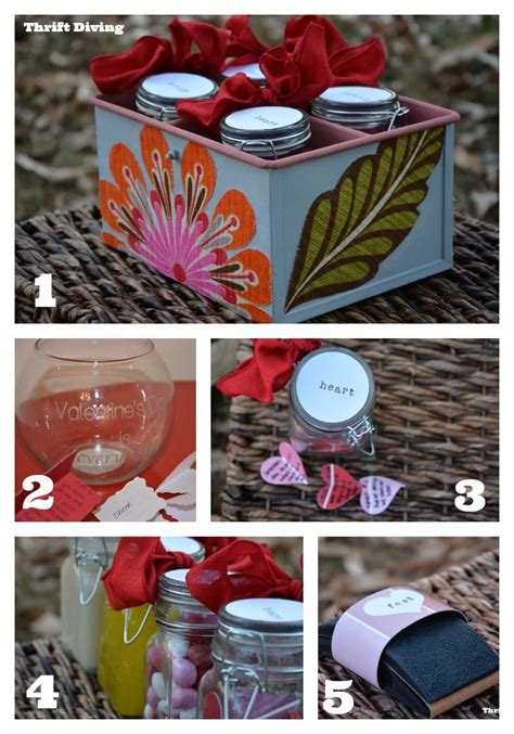 S Day Handmade Gift Ideas - 5 easy diy gift ideas you can make today thrift diving