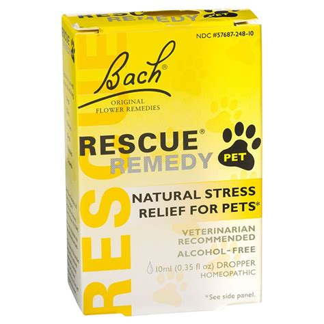 rescue remedy dogs bach rescue remedy pet drops 10ml petbarn