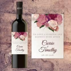 wedding wine label template best 25 wedding wine labels ideas on