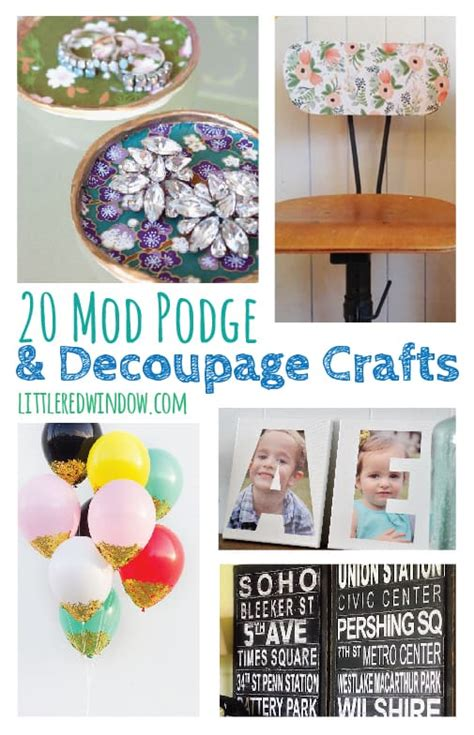 is decoupage and mod podge the same 20 of the best decoupage craft projects window