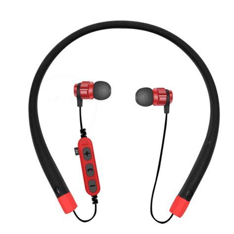Headset Bass Model 999 Great Sound wireless neckband earbuds bluetooth headphones stereo