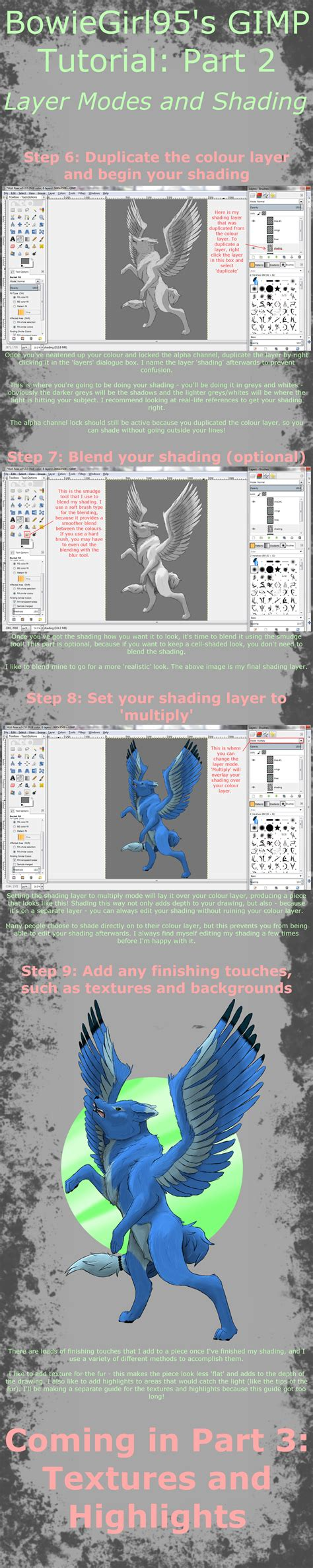 tutorial gimp layer tutorial how to use gimp on drawing tutorial deviantart