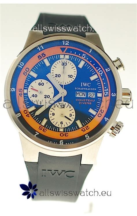 Iwc Schaffhausen Aquatimer Chronograph Swiss Clone 1 1 Whate iwc aquatimer chronograph swiss replica for just 559 usd allswisswatch eu
