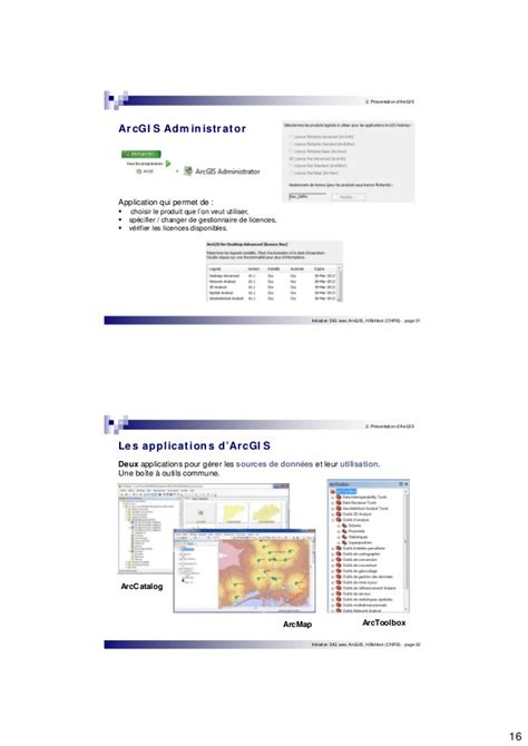 tutorial arcgis en français initiation arcgis10 v3 libre