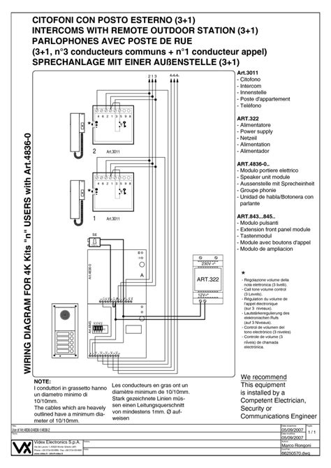 videx intercom wiring diagram 29 wiring diagram images