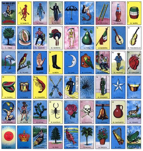 Mexican Chalupa Card Template by The Look Of Loteria Lone Boy