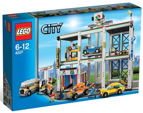 Lego City by Lego City 4207 Garage Car Parking Released I Brick City