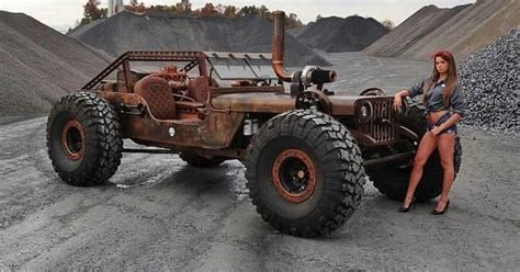 hauk designs peterbilt jeep wrangler rock crawler rat rod favorite cars carzz