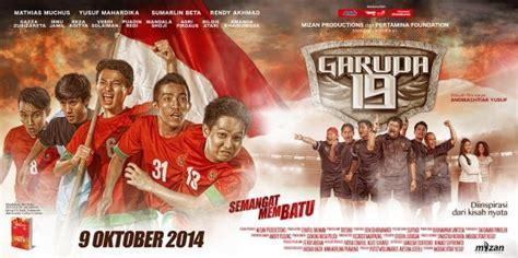 download film indonesia perjuangan garuda 19 film sepakbola kisah nyata perjuangan timnas