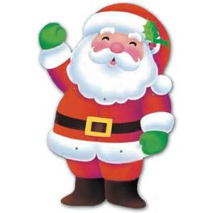 50 quot christmas party cheerful santa claus jointed cutout