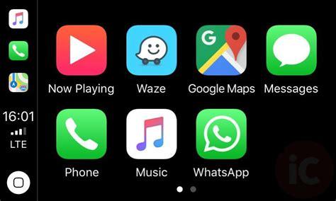 here s what waze looks like running on apple carplay pics
