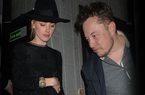 is amber heard dating elon musk after johnny depp divorce amber heard caught partying with rumored hookup elon musk