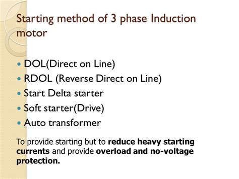 induction motor is not self starting three phase induction motor is self starting 28 images why is three phase induction motor