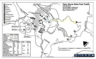 Pocahontas State Park Map by Featured Hike Little Mountain Falls At Fairy Stone State Park