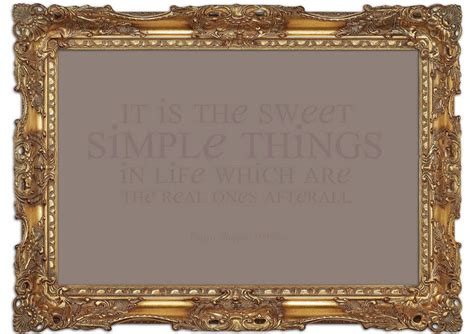 Sweety Gold Xl 26 wilder it is the sweet simple things beige text