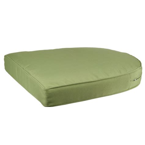 green bench cushion green single chair cushion