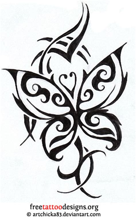 butterfly tribal tattoo designs butterfly gallery