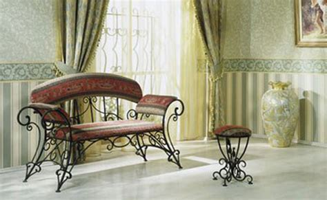 Wrought Iron Living Room Furniture by Wrought Iron Furniture Chairs And Benches Modern