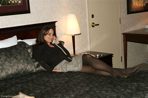 wearing tons to bed in pantyhose women cum face mature