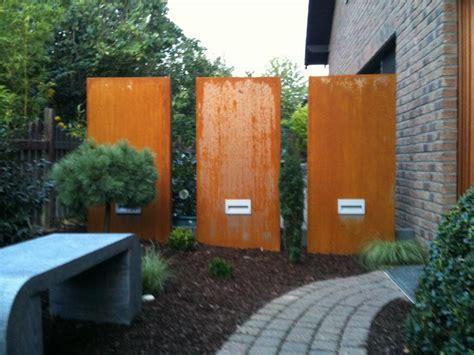 Garten Paravent Metall by Garten Deco Deco Garten Sichtschutz Metall Deko Garten Metall In Braun Sichtschutz Deco Garten