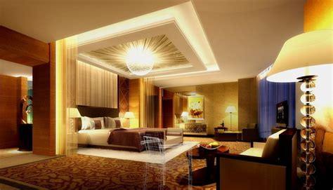 Bedroom Lighting Design Ideas Fair Big Bedroom Deluxe Theme Design Ideas With Brilliant Big Drop Ceiling Lighting And