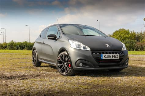 peugeot 208 gti white driven peugeot 208 gti by peugeot sport review