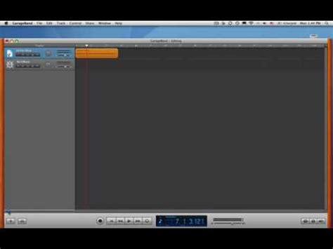 Garageband Wav Files Garageband Tutorial 1 Edit An Audio File