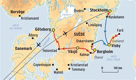 Voyage itinérant découverte de la Suède   Comptoir des Voyages