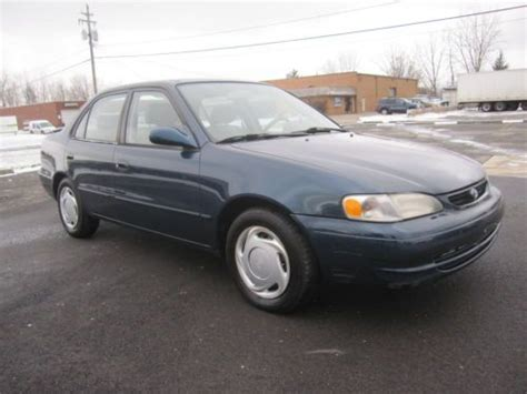 98 Toyota Corolla Type Sell Used 98 99 Toyota Corolla Le 4door Automatic Low